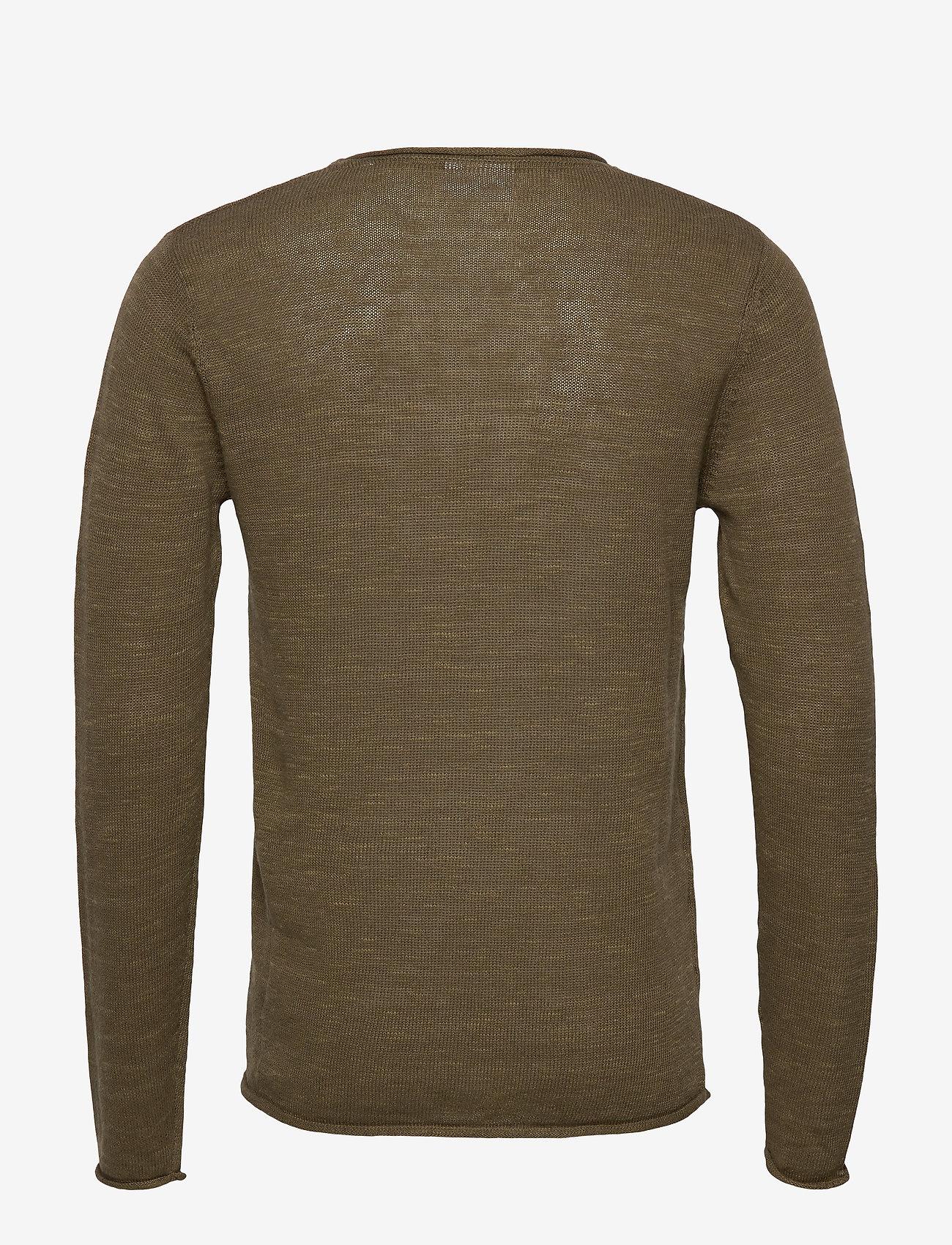 Lindbergh Casual knit - Strikkevarer ARMY MEL - Menn Klær