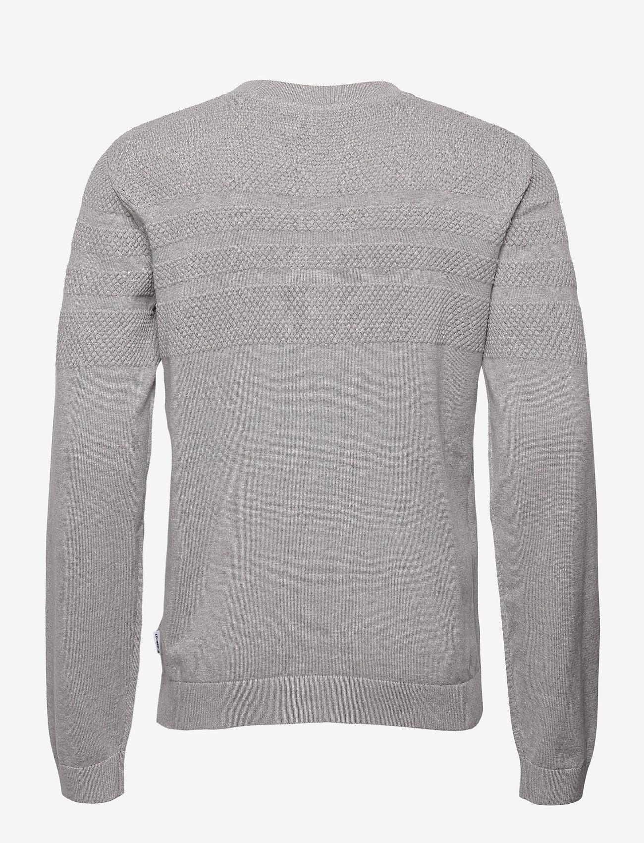 Lindbergh - Pearl knit cardigan - podstawowa odzież z dzianiny - grey mel - 2