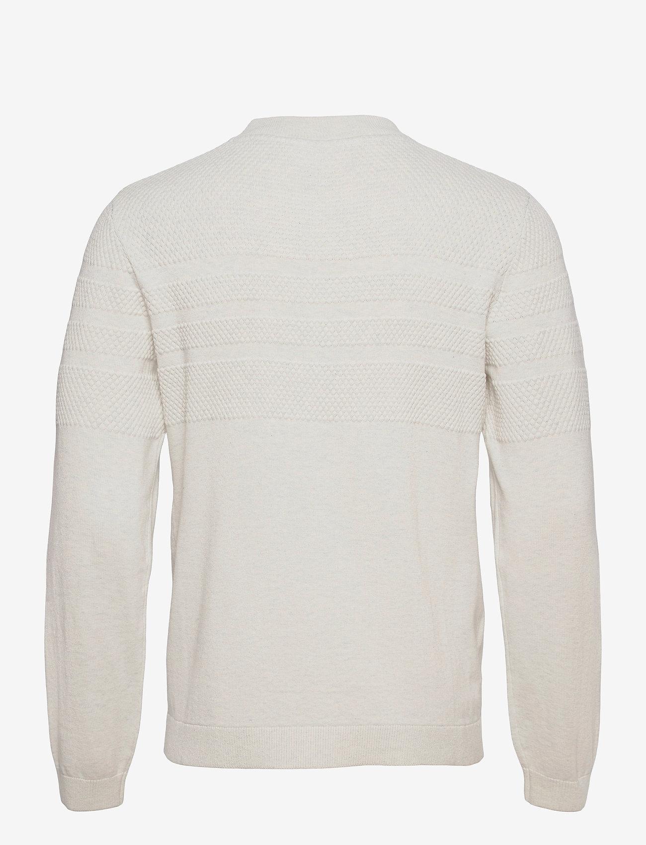 Lindbergh - Pearl knit cardigan - podstawowa odzież z dzianiny - off white mel - 1