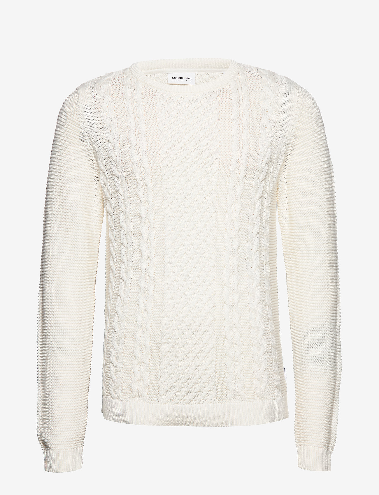 Lindbergh - Cable knit - pulls col rond - off white - 1