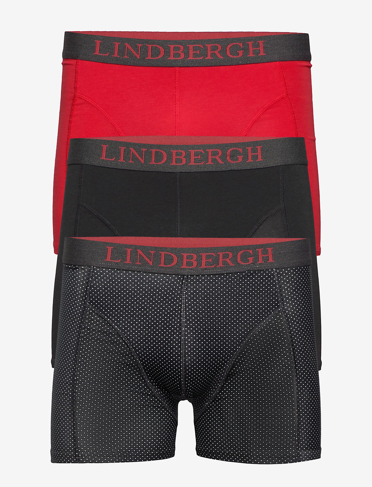 Lindbergh - Mixed bamboo boxers 3 pack - underwear - mixed