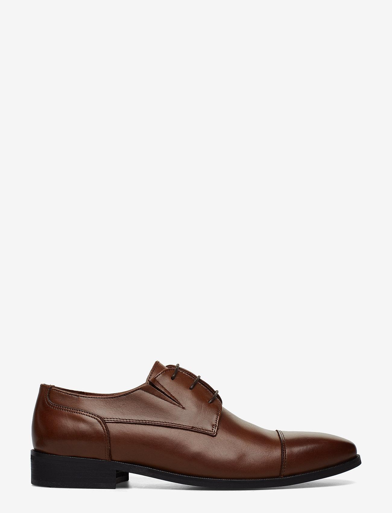 Lindbergh - Classic leather shoe - snøresko - brown - 1