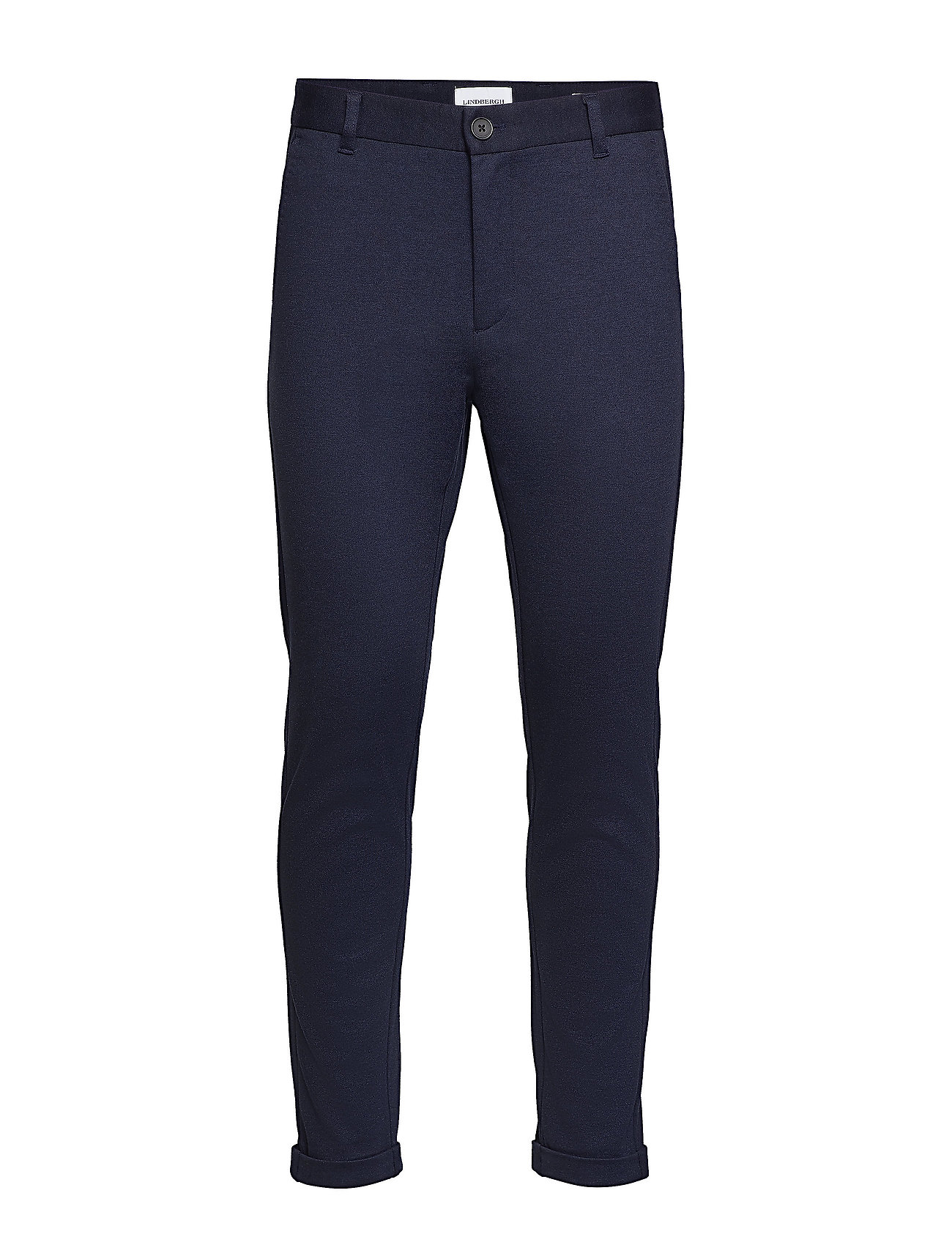 Lindbergh Knitted cropped pants - NAVY MIX