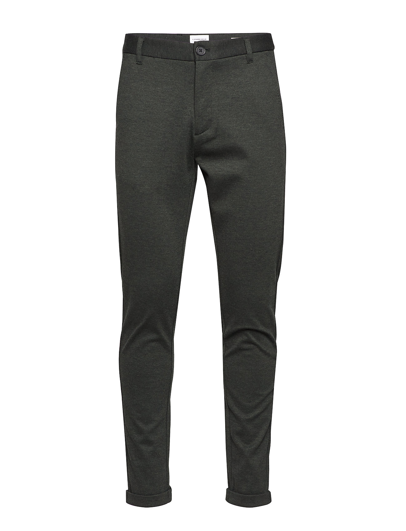 Lindbergh Knitted pants normal length - ARMY MIX