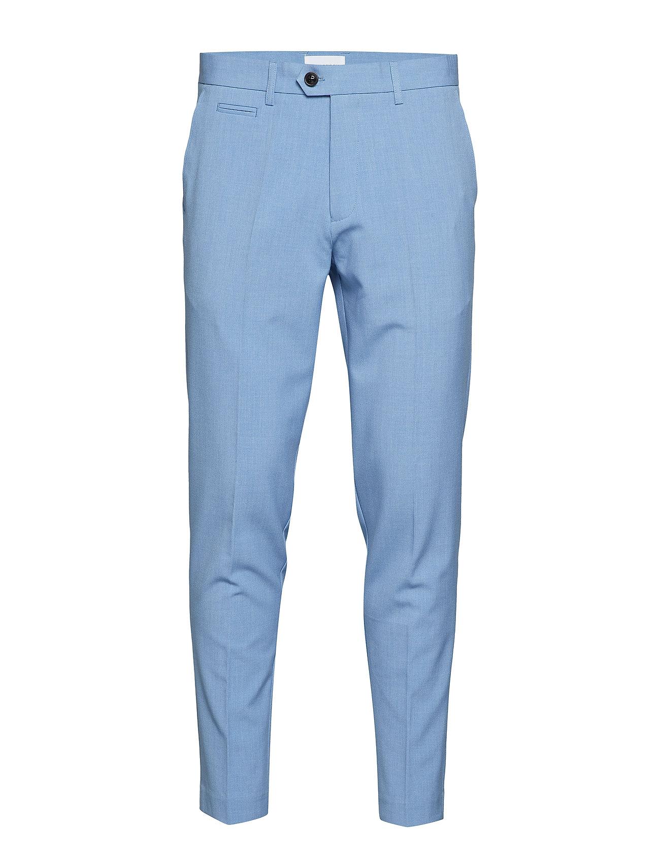 Lindbergh Club pants - LT BLUE MIX