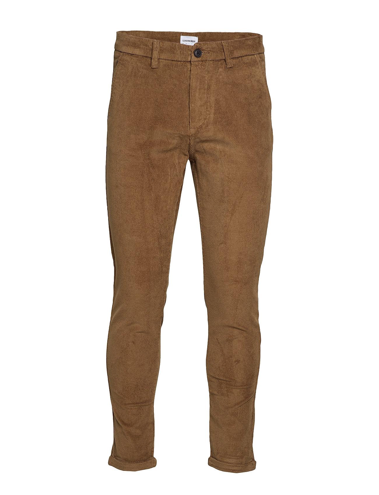 Lindbergh Cropped corduroy pants - SAND