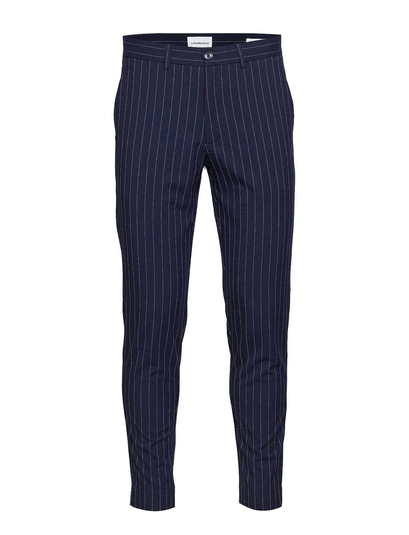 Lindbergh Club Pants Pin Striped - NAVY