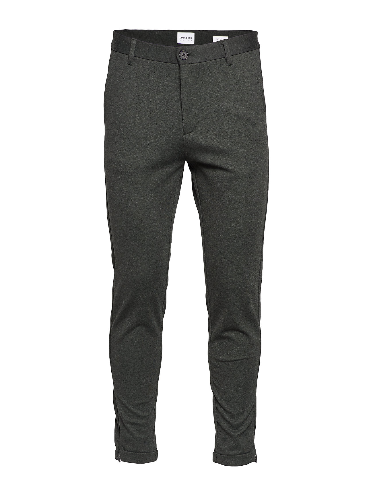 Lindbergh Cropped pants - knitted - ARMY MIX