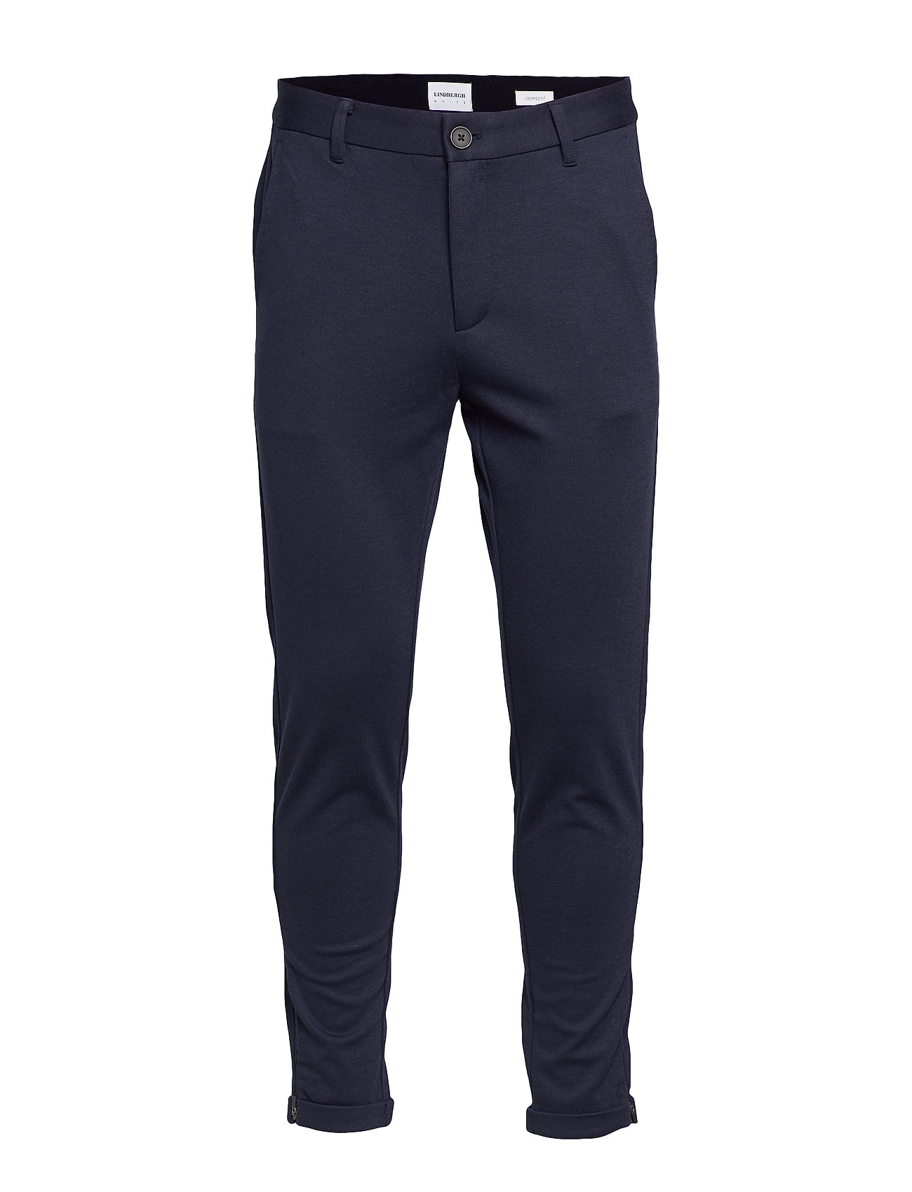 Lindbergh Cropped pants - knitted - NAVY