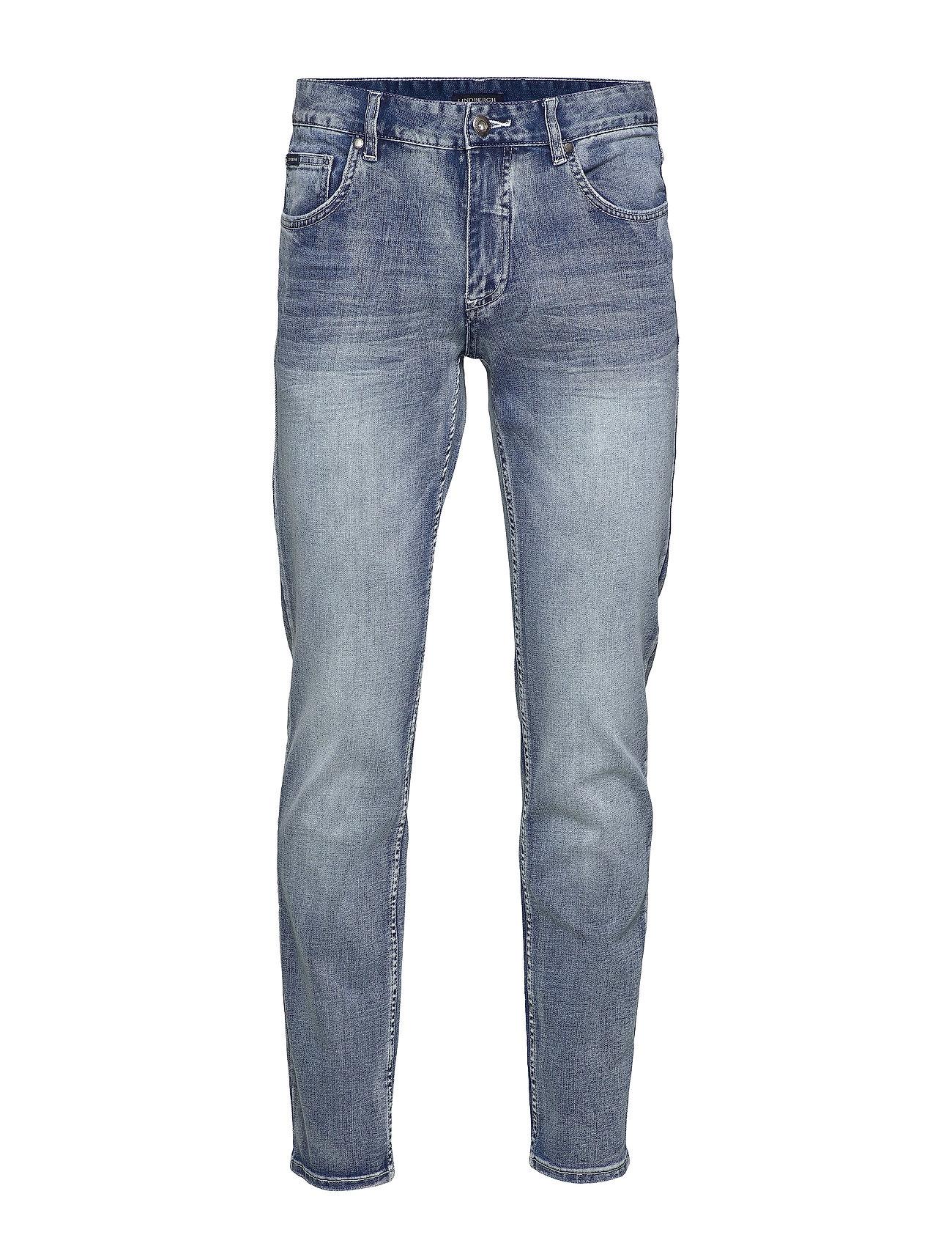 Lindbergh 5 pocket jeans stretch - ARC BLUE