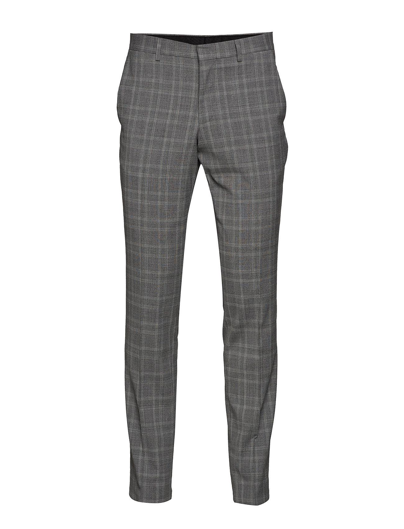 Lindbergh Checked stretch pants - GREY