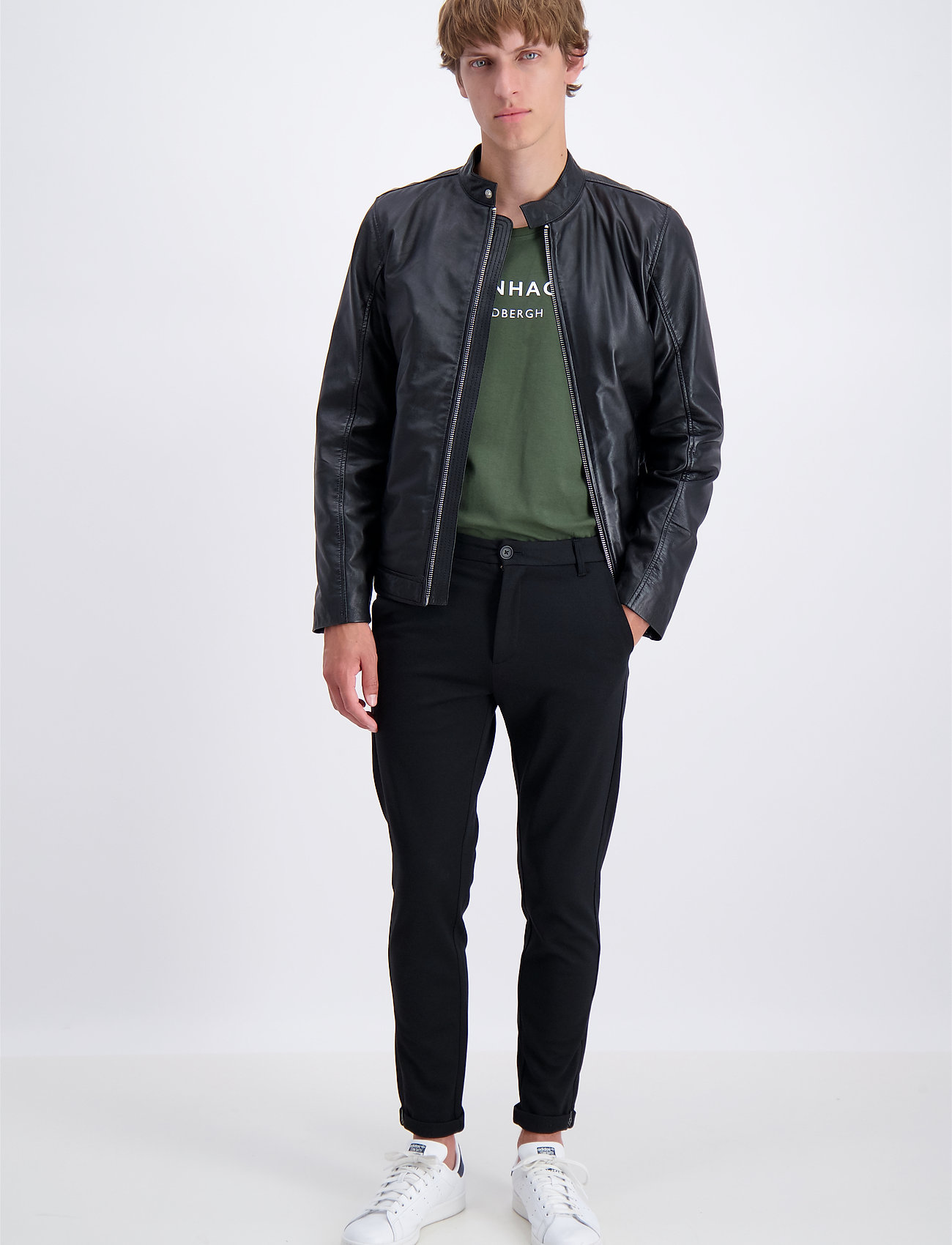 Lindbergh - Leather jacket - nahkatakit - black - 0