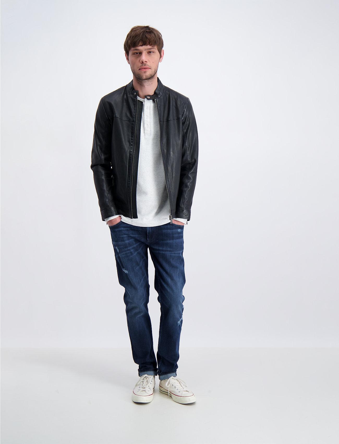 Lindbergh - Leather jacket - lederjacken - black - 0