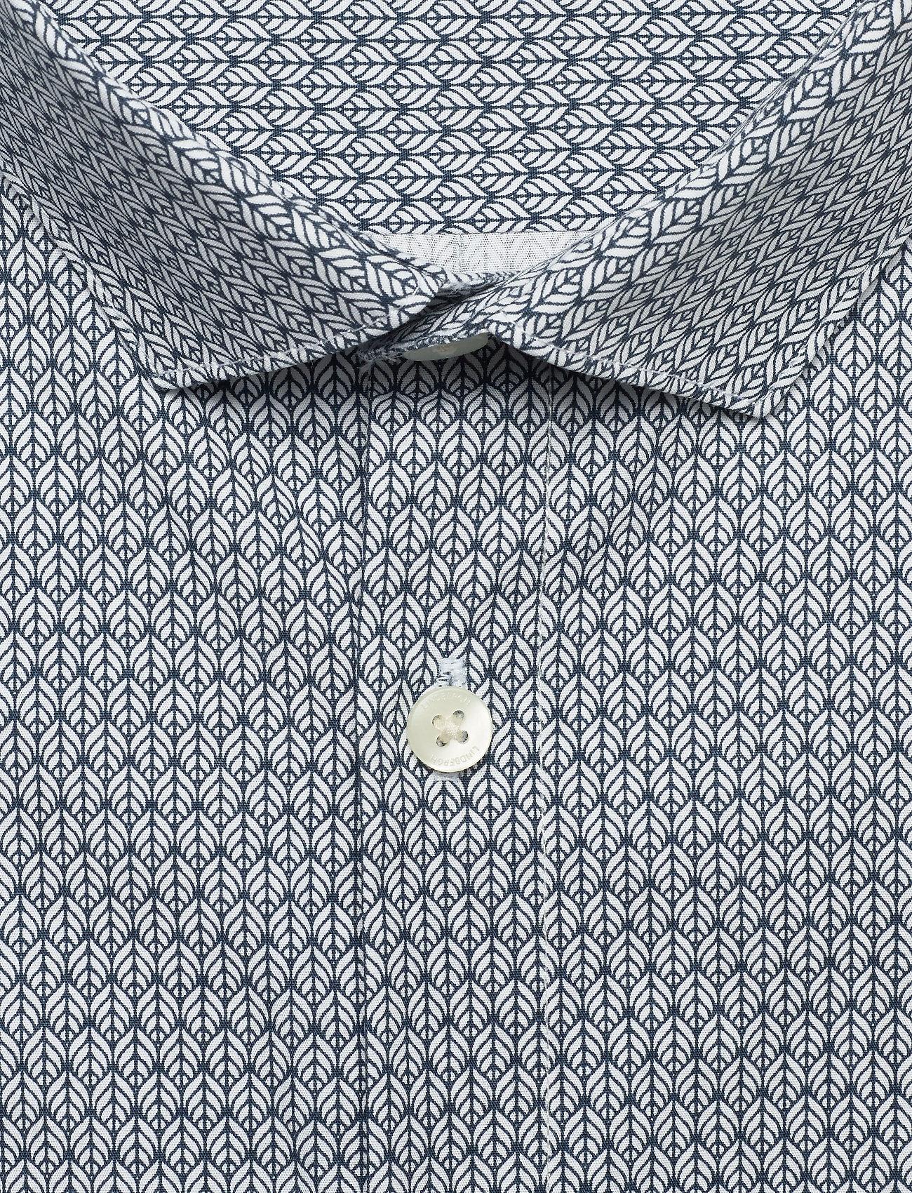 Lindbergh Graphic print shirt L/S - Skjorter WHITE - Menn Klær