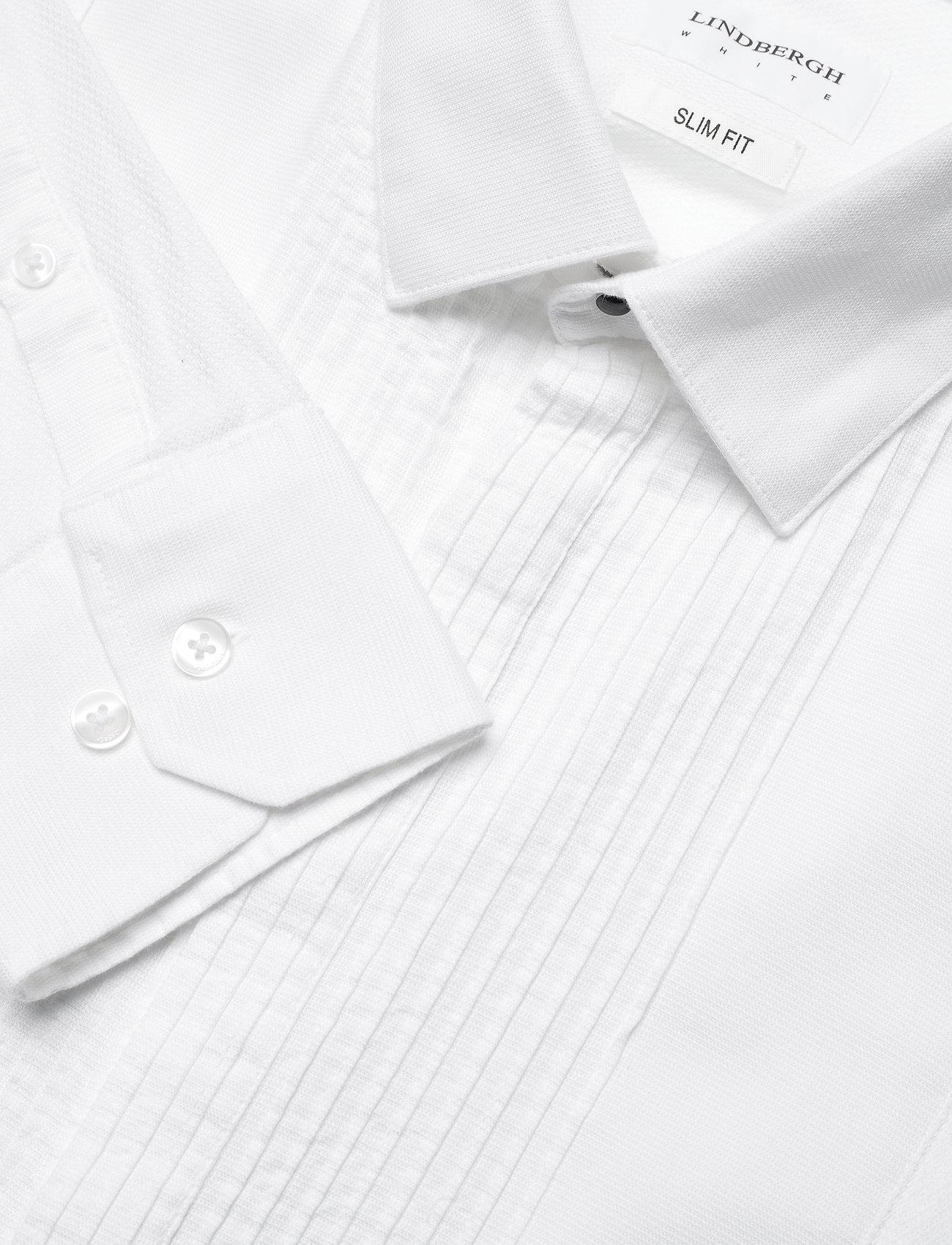Lindbergh Tuxedo shirt L/S - Skjorter WHITE - Menn Klær