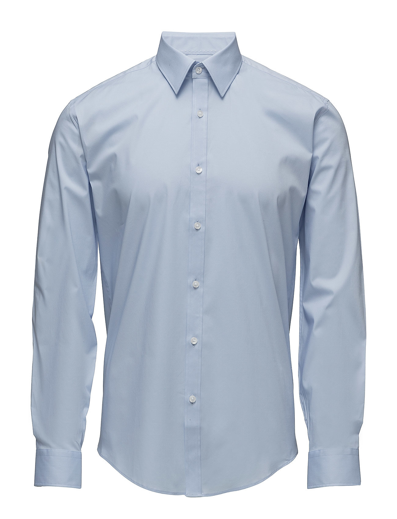 Lindbergh Men's Stretch Shirt L/S - LT BLUE