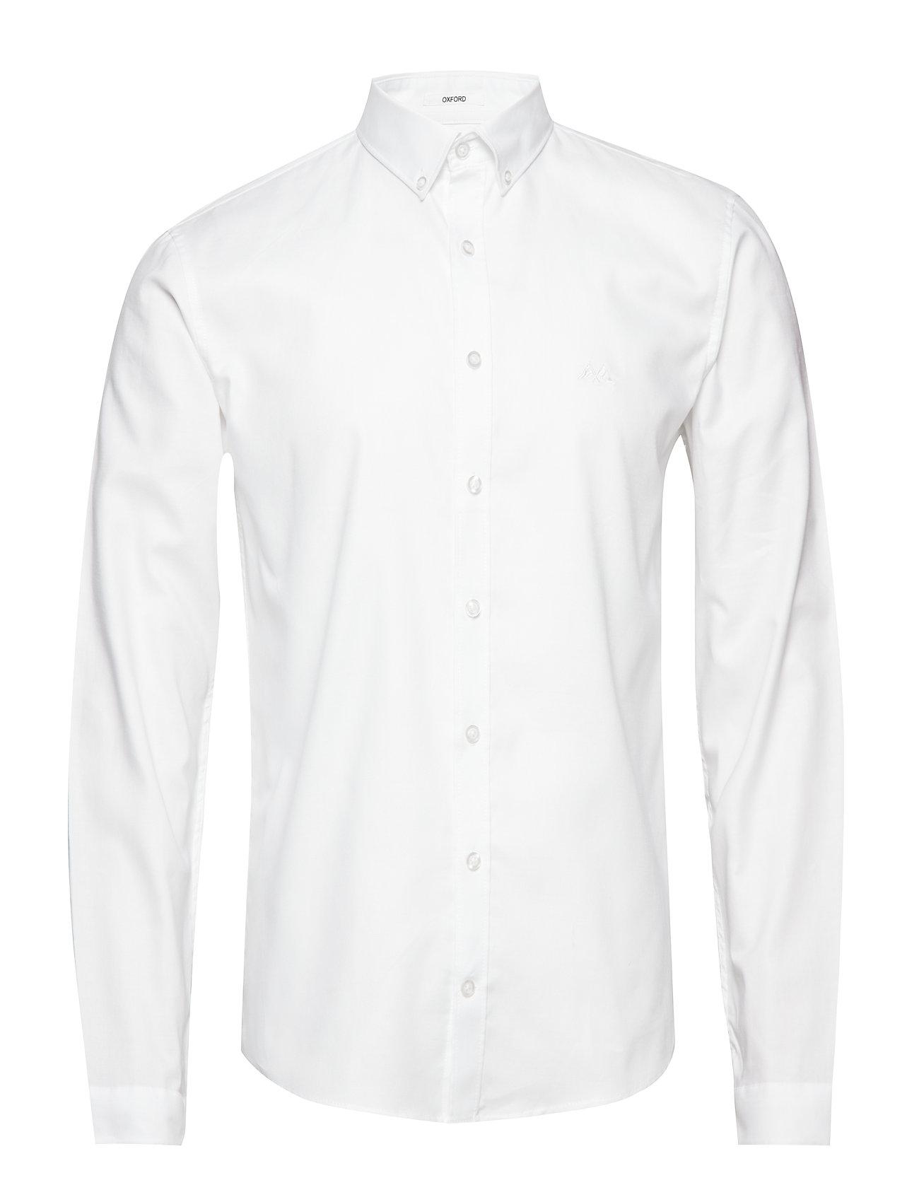 Lindbergh Oxford shirt L/S - WHITE