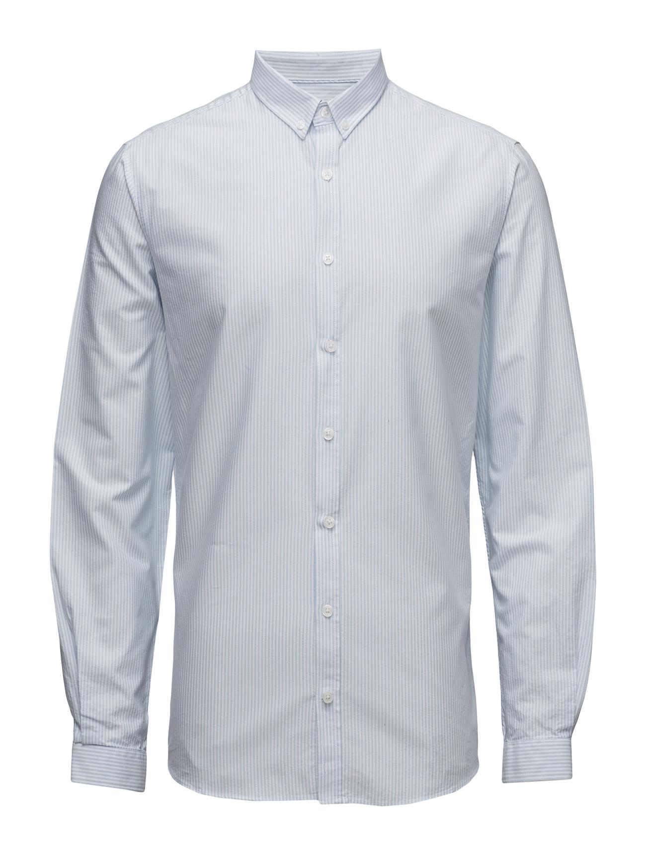 Lindbergh Striped oxford shirt L/S