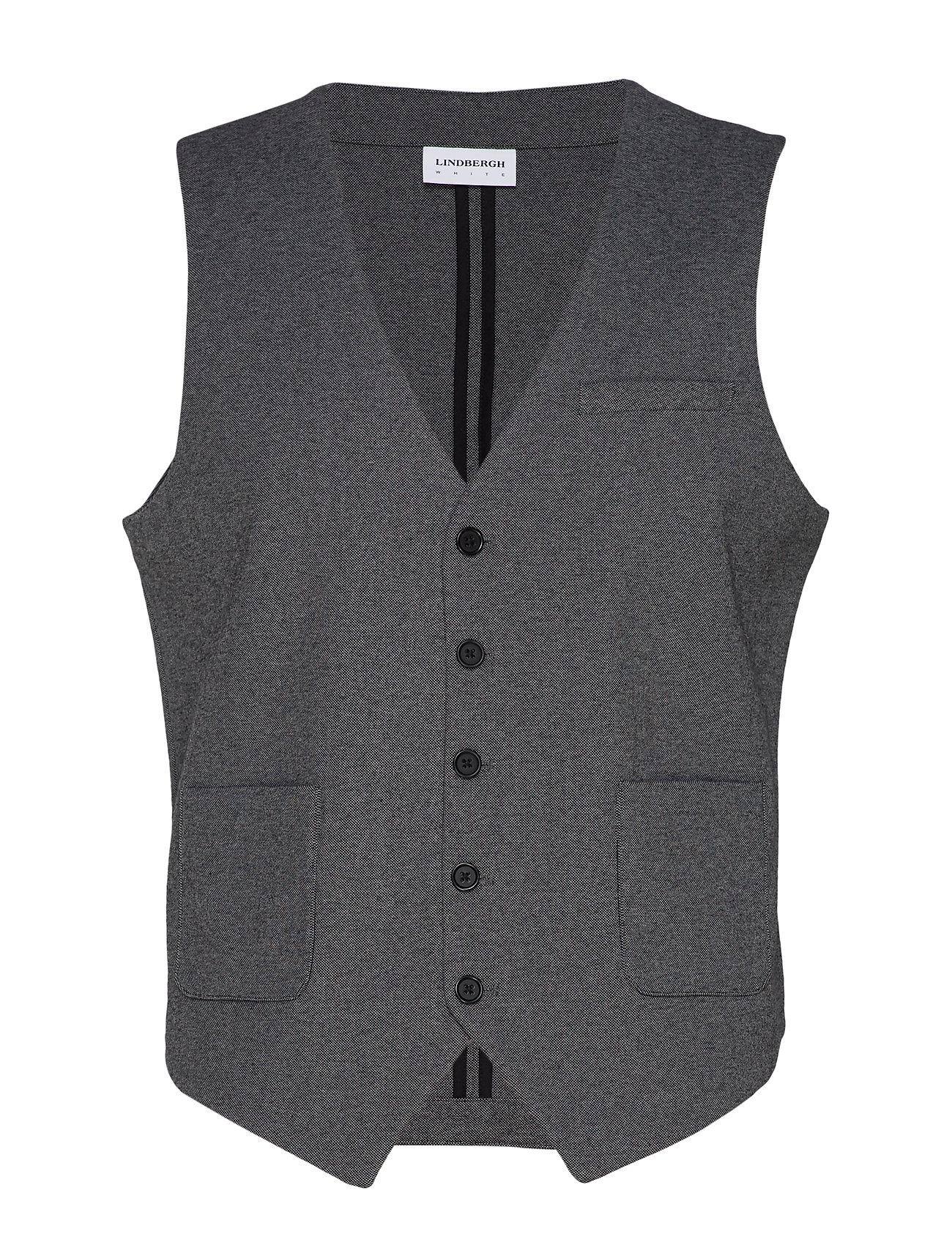Lindbergh Knitted waistcoat - GREY MIX