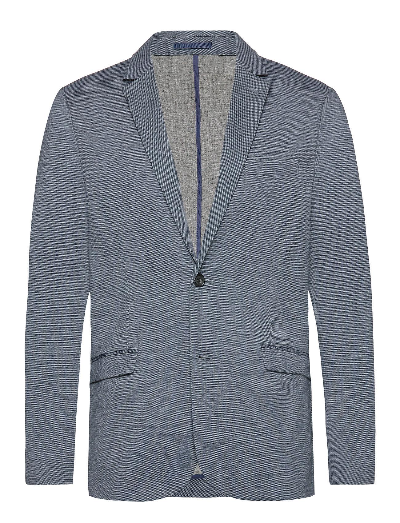 Lindbergh Knitted blazer - GREY MIX