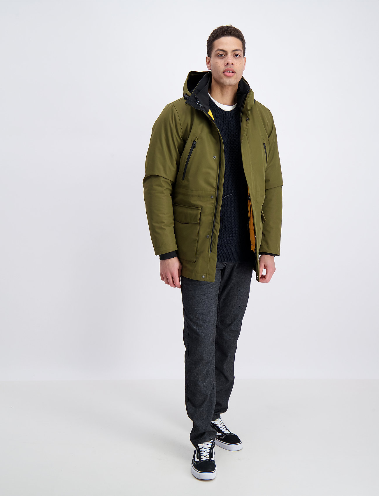 Lindbergh - Technical 3-in-1 jacket - parkatakit - mid army - 0