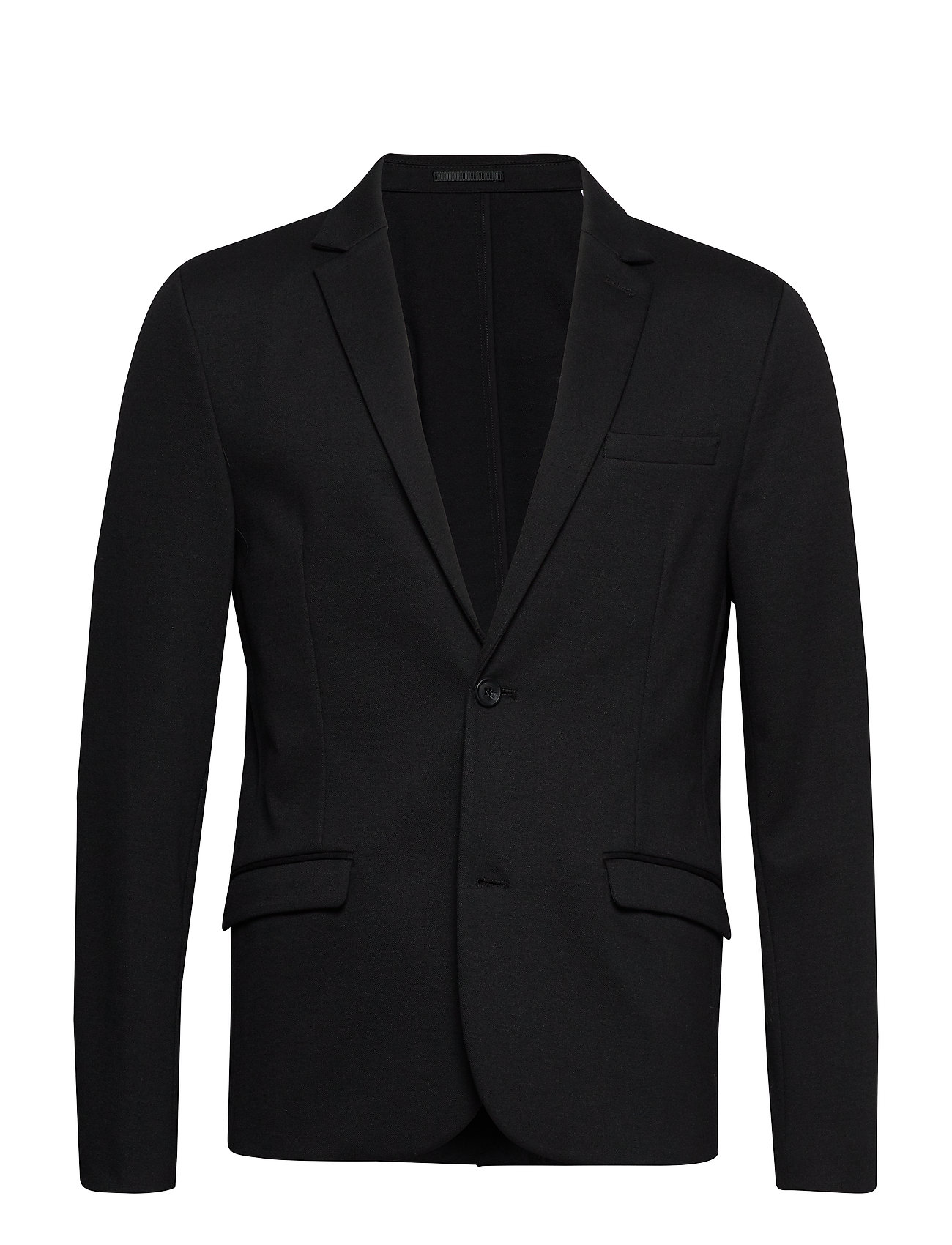 Image of Superflex Knitted Blazer Blazer Jakke Sort Lindbergh (3224974347)