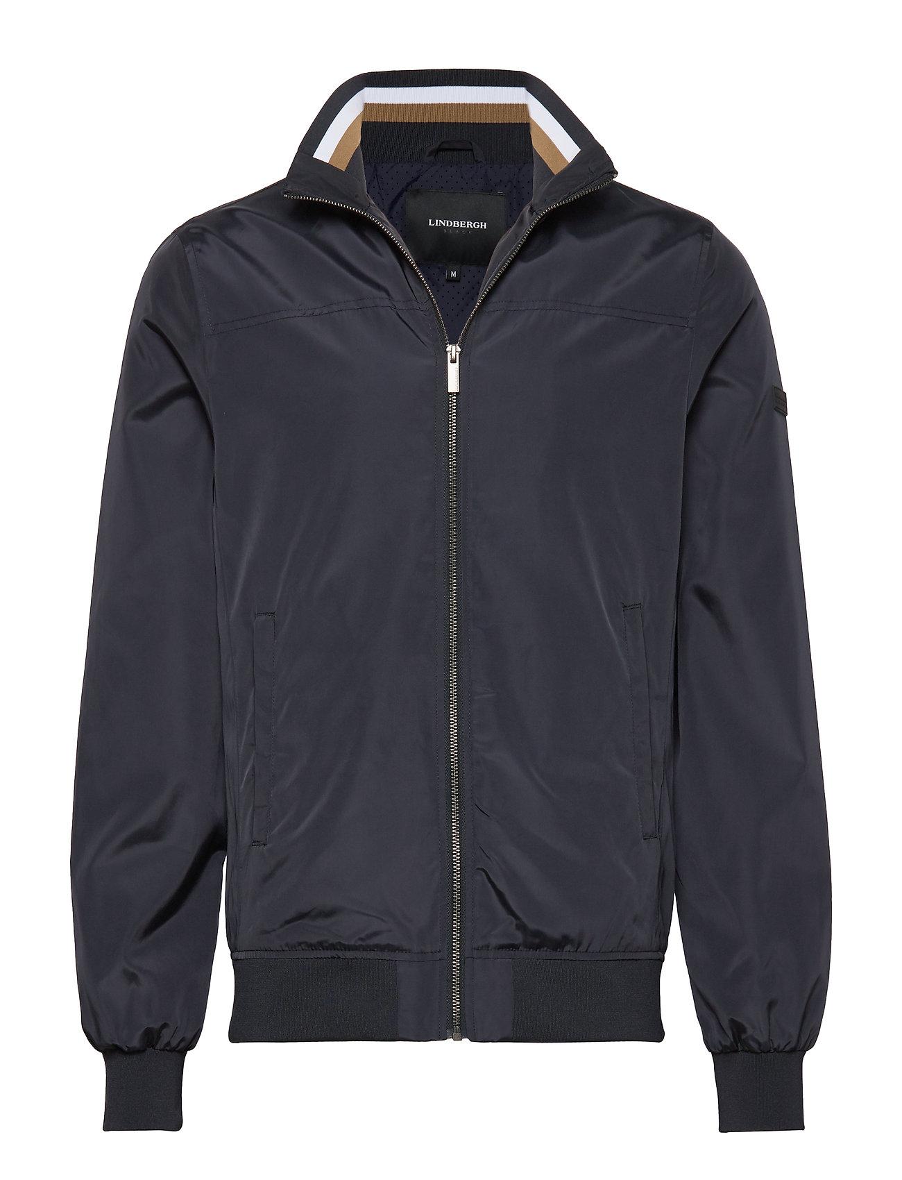 Lindbergh Soft nylon jacket - NAVY