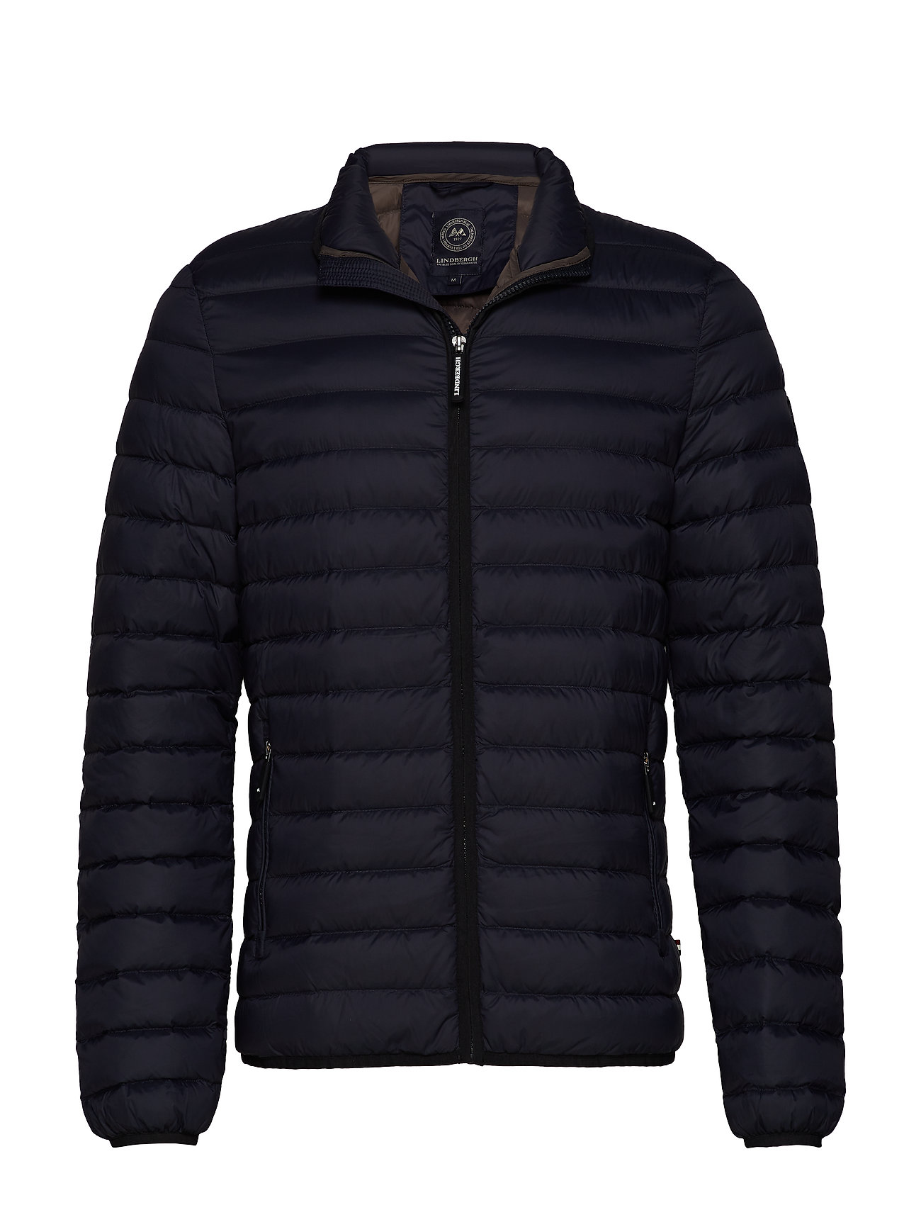 Lindbergh Quilted down jacket - NAVY