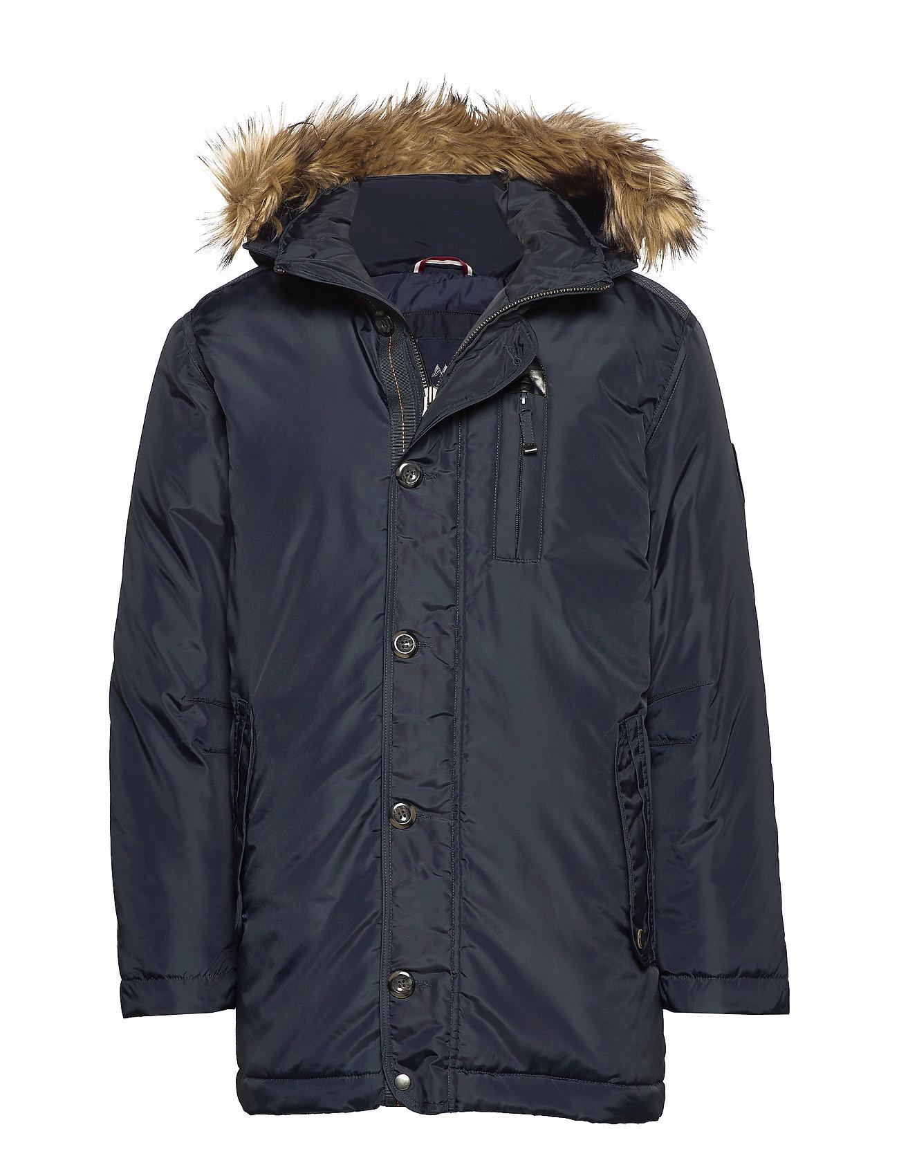 Lindbergh Parka jacket - NAVY