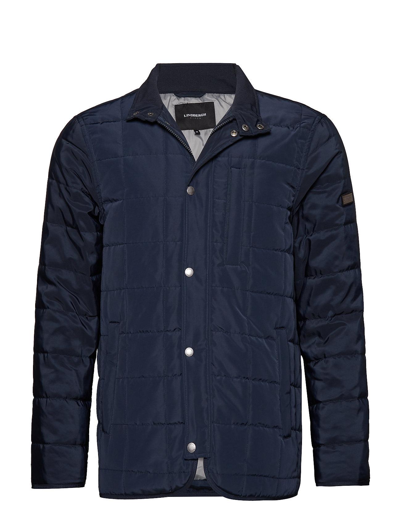 Lindbergh Quilted jacket - DK BLUE