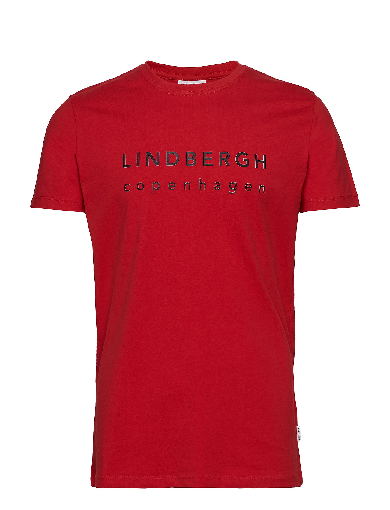 Lindbergh Logo print tee S S Ögrönlar