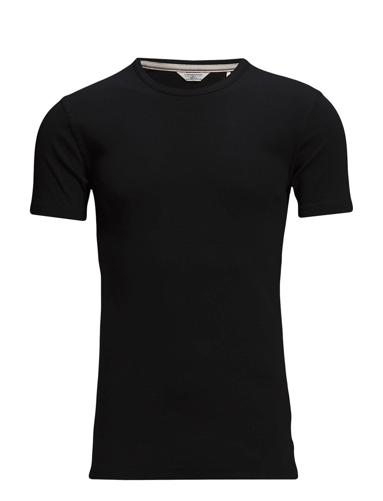 Lindbergh Basic t-shirt S/S - BLACK
