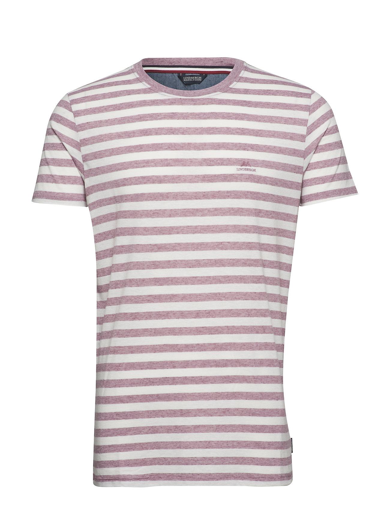 S spurpleLindbergh Striped Striped Slub Tee c3R54LqAj