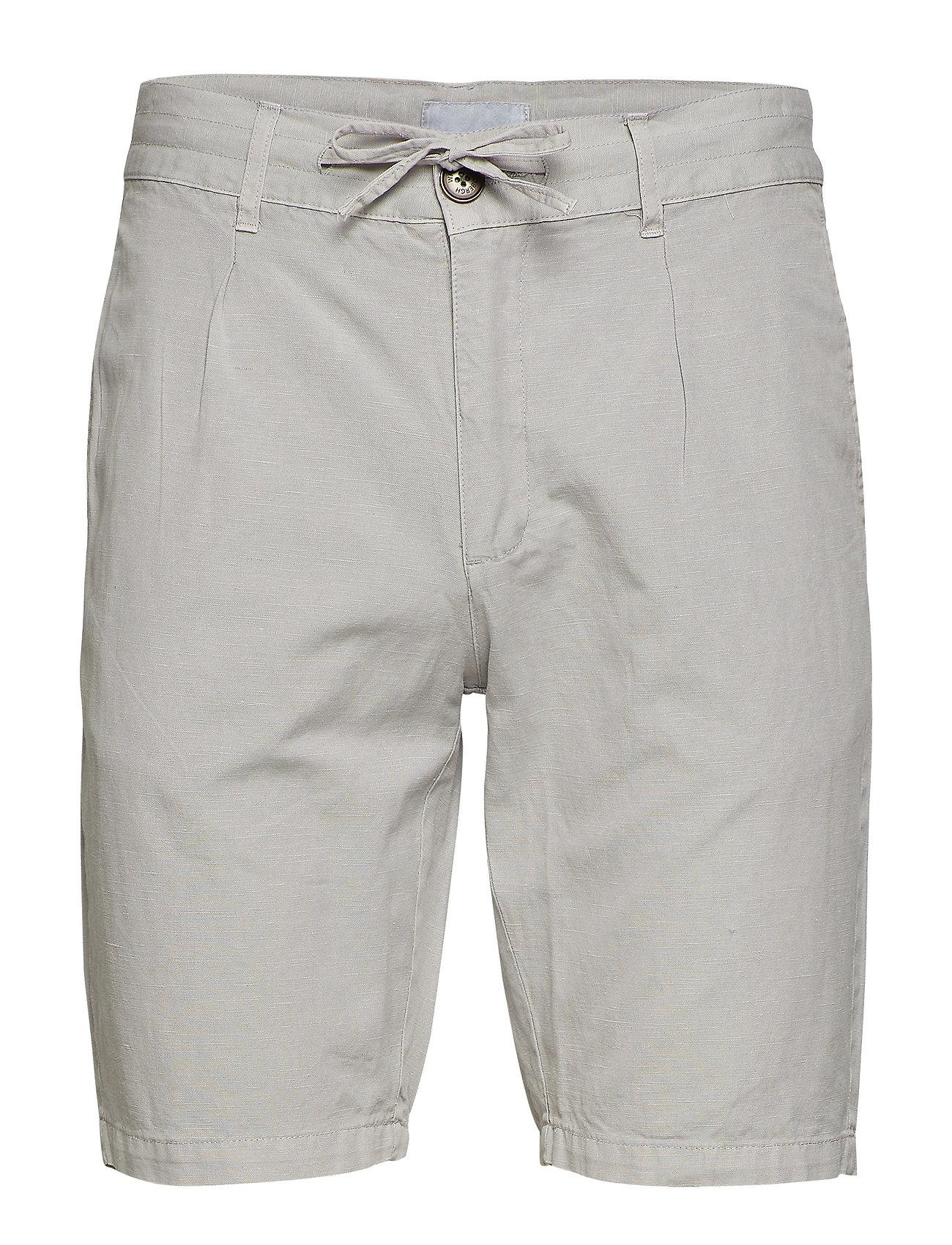 Lindbergh Linen shorts - GREY