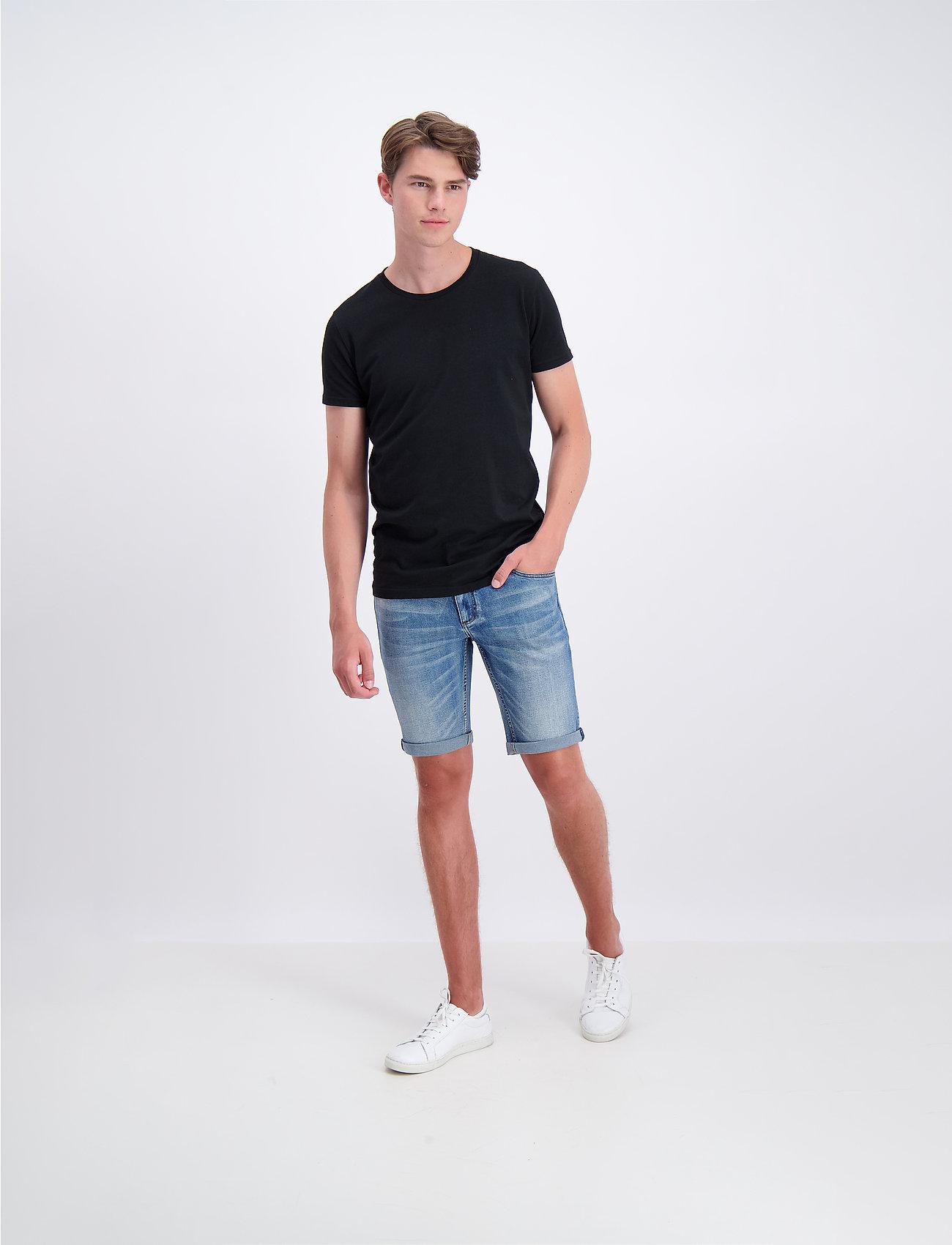 Lindbergh - Denim shorts superflex - farkkushortsit - fresh blue - 0