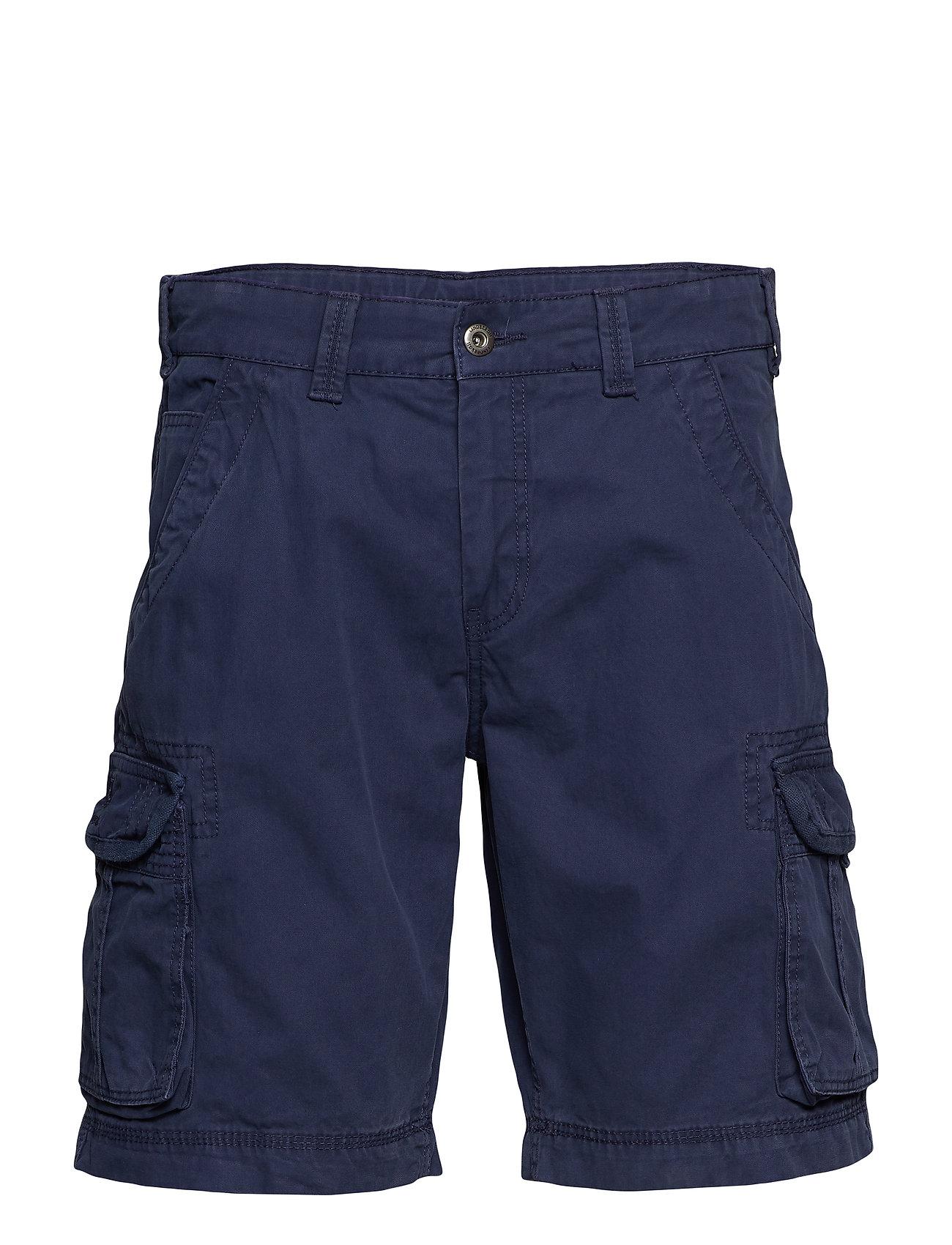 Lindbergh Cargo shorts - DK BLUE