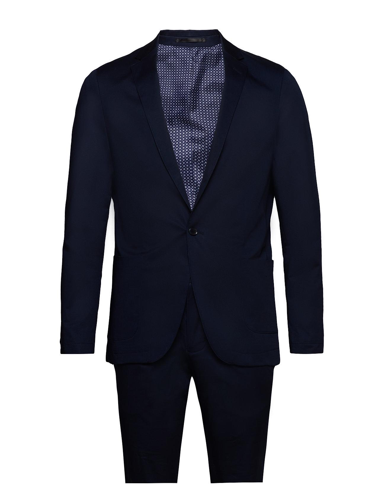 Lindbergh Casual suit - DK BLUE