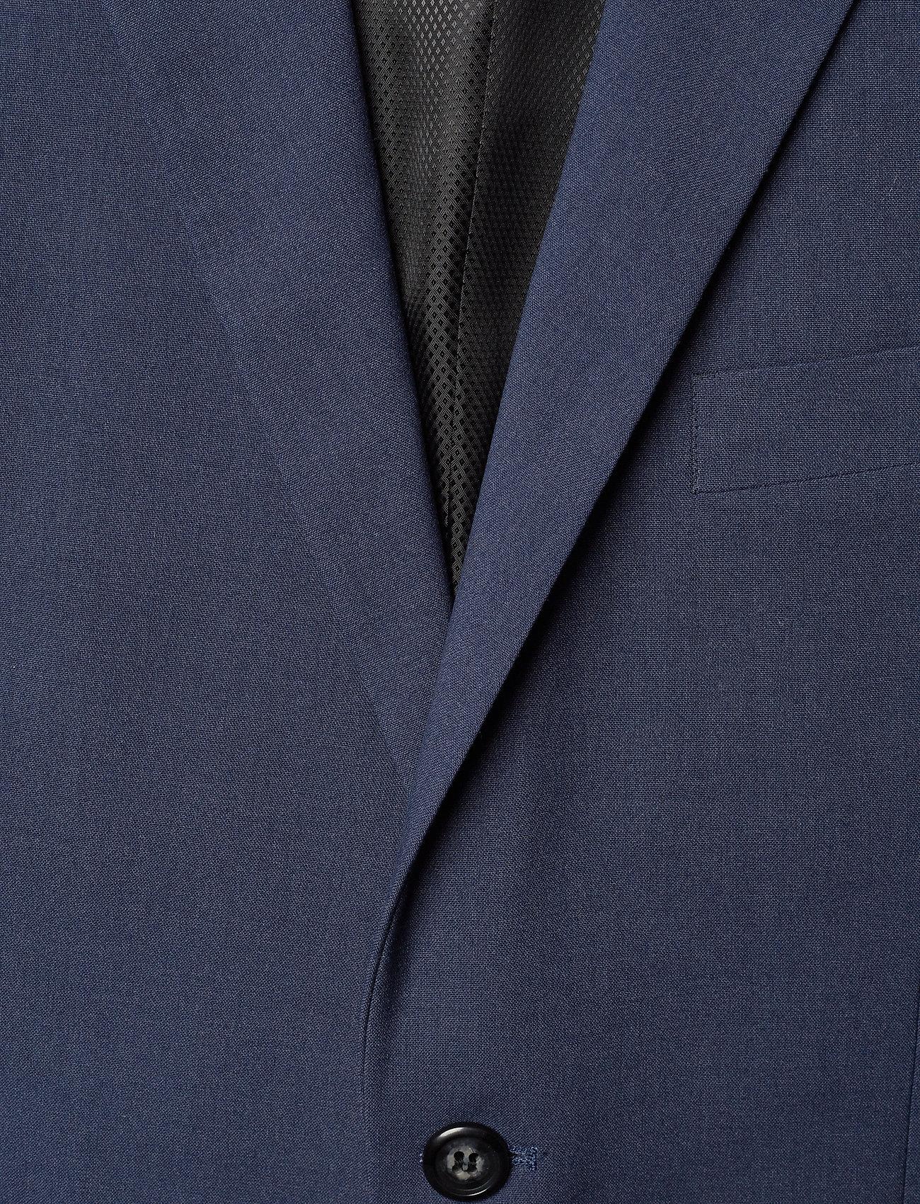 Lindbergh Plain mens suit - Dresser & blazere BLUE MEL - Menn Klær