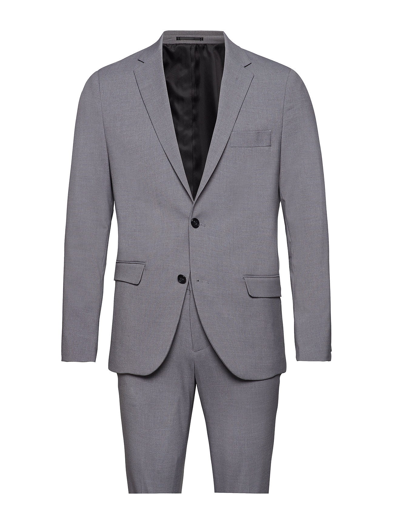 Lindbergh Plain mens suit - LT GREY