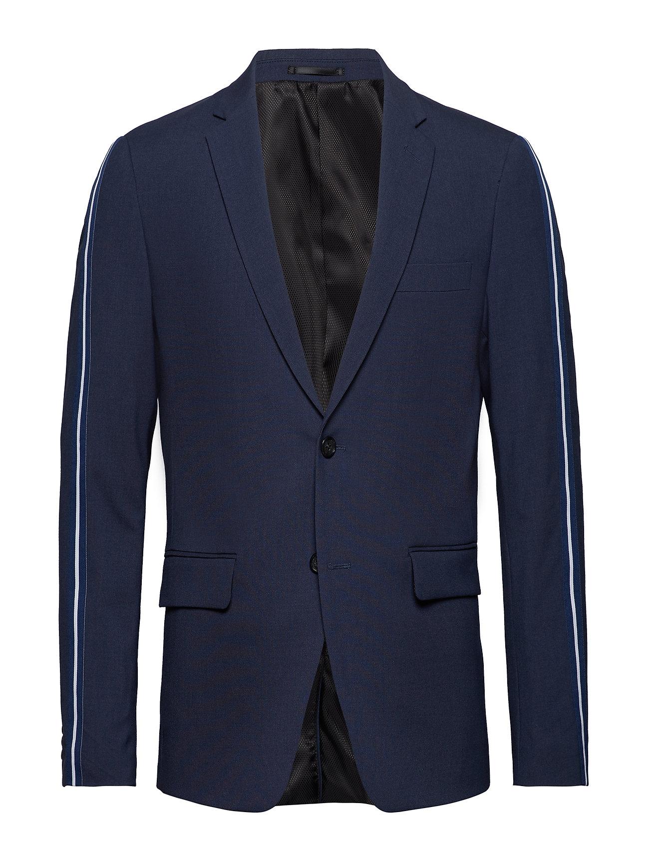 Lindbergh Suit w. contrast tape - BLUE MEL