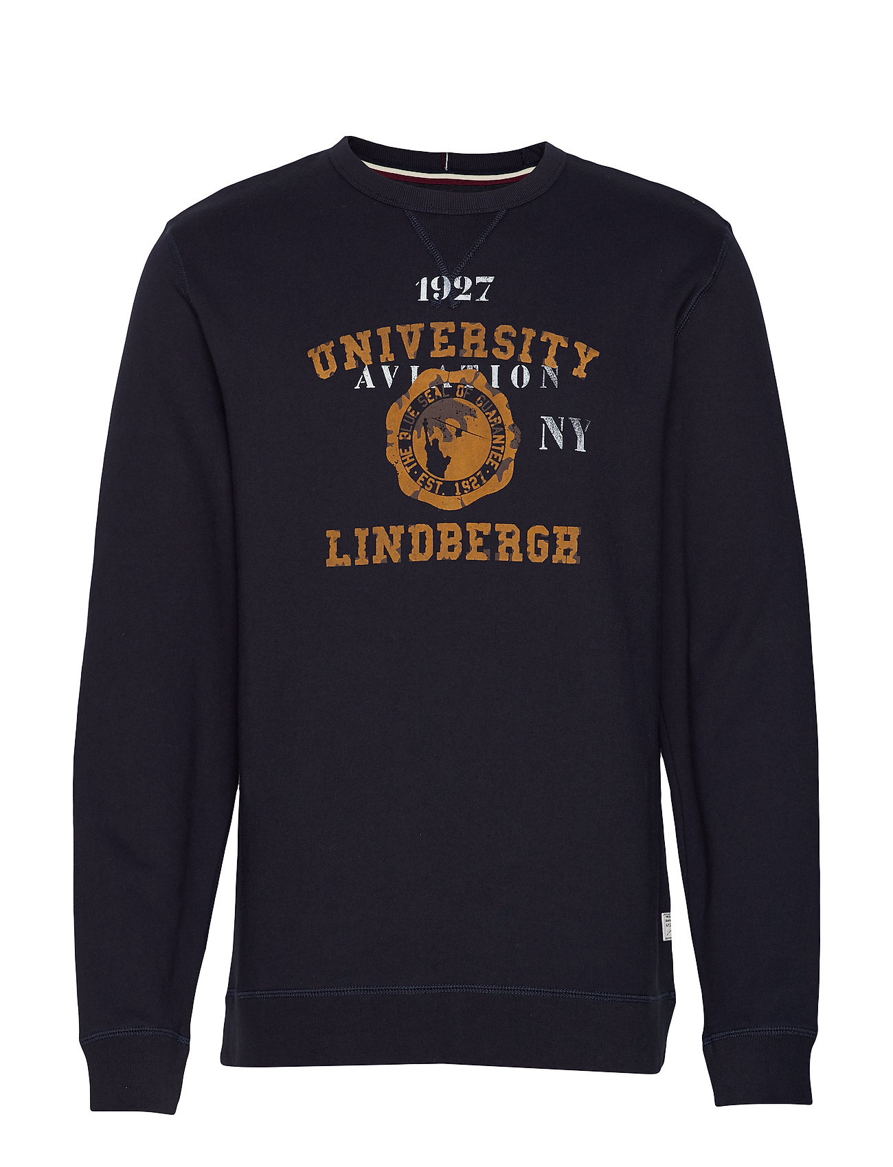 Lindbergh Printed sweat - NAVY