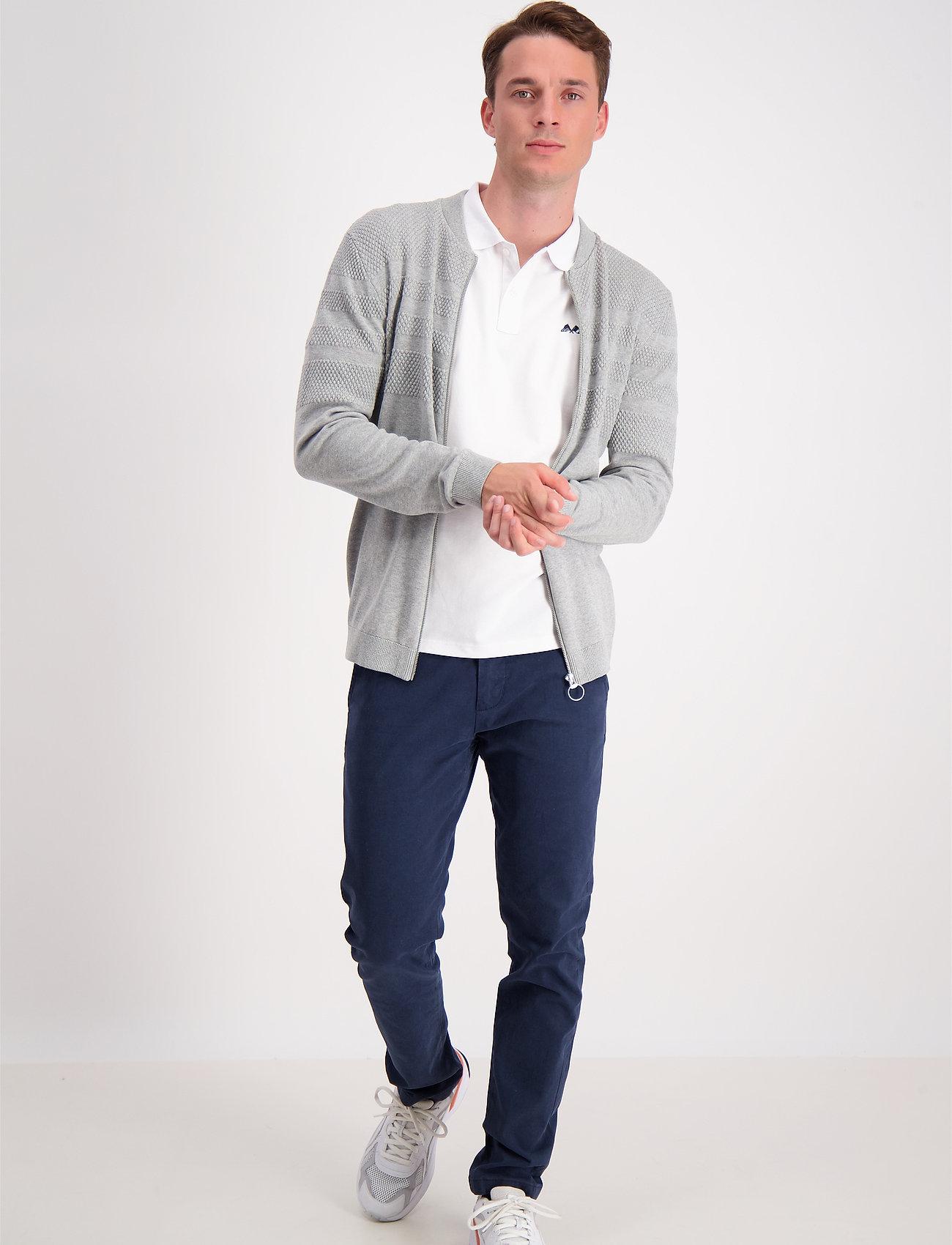 Lindbergh - Pearl knit cardigan - podstawowa odzież z dzianiny - grey mel - 0