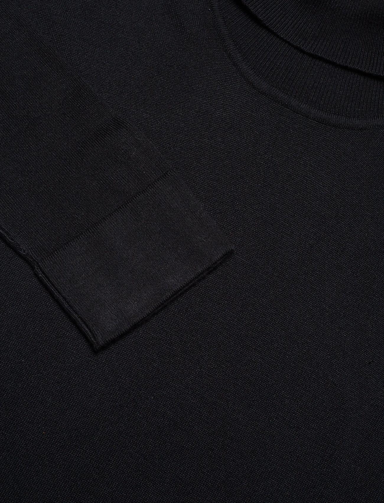 Lindbergh Roll neck knit - Strikkevarer BLACK - Menn Klær
