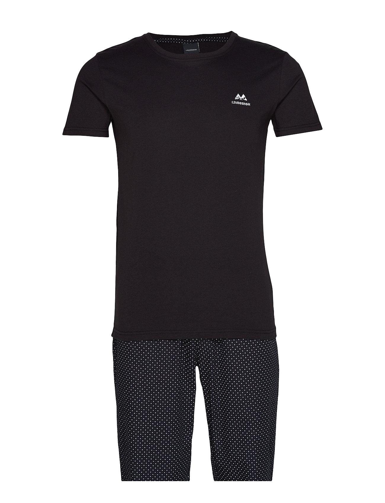 Lindbergh Gift box pyjama - BLACK