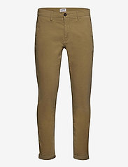 Lindbergh - Corduroy slim fit pants - rennot - sand - 0