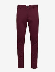 Lindbergh - Knitted pants normal length - spodnie na co dzień - red mix - 0
