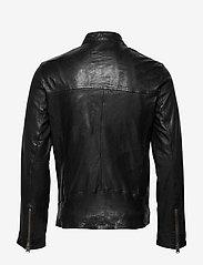 Lindbergh - Leather jacket - lederjacken - black - 2