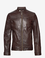 Lindbergh - Leather jacket - nahkatakit - brown - 1