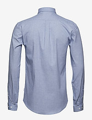 Lindbergh - Mouliné stretch shirt L/S - peruspaitoja - lt blue - 2