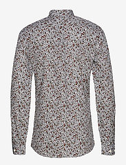 Lindbergh - Ditsy floral print shirt L/S - chemises décontractées - white - 2